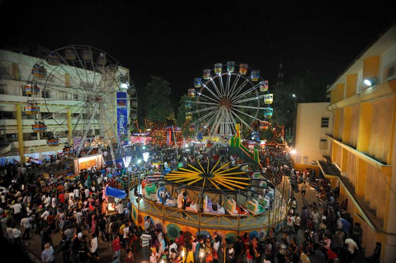 Mumbai romantic places , Mount Mary Fair